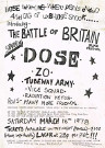 Battle of Britain Punk Poster 1978 UK